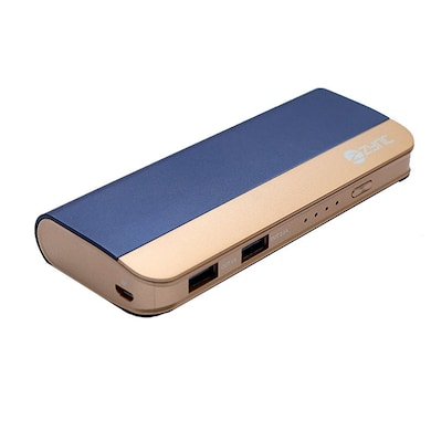 Zync PB999 Power Bank 10400 mAh with Combo of Mouse, LED Fan and USB LED Navy Blue ( Color may Vary ) Price in India