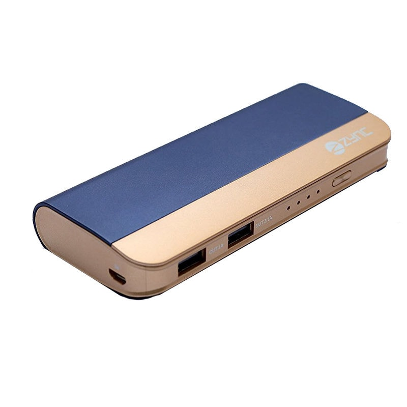Zync PB999 Power Bank 10400 mAh with Combo of Mouse, LED Fan and USB LED Navy Blue ( Color may Vary ) images, Buy Zync PB999 Power Bank 10400 mAh with Combo of Mouse, LED Fan and USB LED Navy Blue ( Color may Vary ) online at price Rs. 1,299