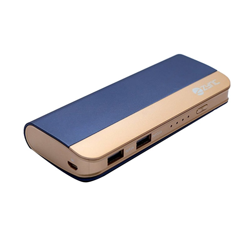 Buy Zync PB999 Power Bank 10400 mAh with Combo of USB HUB, USB LED Light and USB Fan Navy Blue (Color may Vary) online