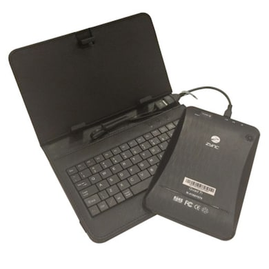 Zync Quad 7i Tablet With Keyboard Black, 8 GB Price in India