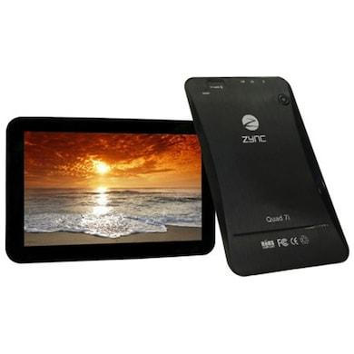 Zync Quad 7i Tablet Black, 8 GB Price in India