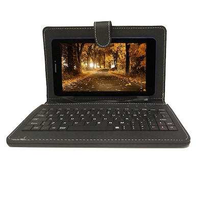 Zync Z81 3G Calling With Changeable Blue Back Panel Tablet With Keyboard Blue, 8GB Price in India