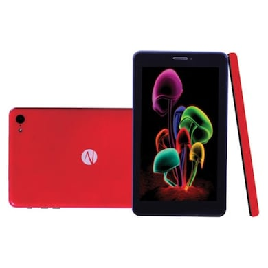 Zync Z81 3G Calling With Changeable Red Back Panel Tablet With Keyboard Red, 8GB Price in India