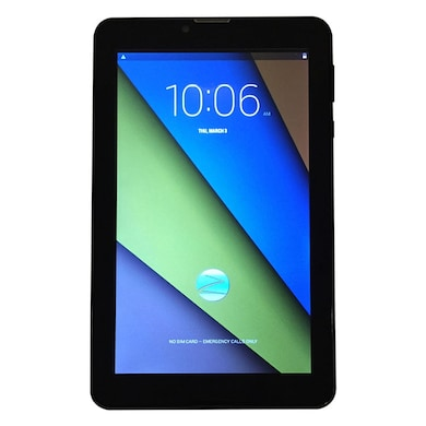 Zync Z900 Plus Quad Core 3G Calling Tablet Black, 8 GB Price in India